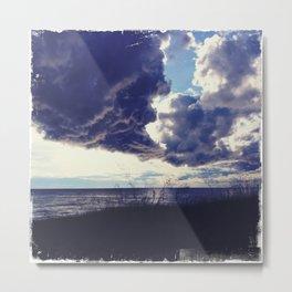 U.P. Clouds Metal Print