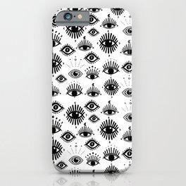 Midnight Mystic eyes iPhone Case