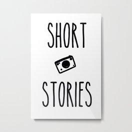 Short Stories Metal Print
