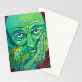 The Greenman by Mary Bottom Stationery Cards