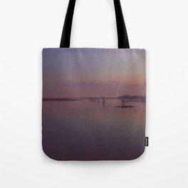 Lilac Venice Tote Bag