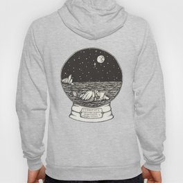 Mermaid Snow Globe Hoody