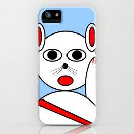 Maneki neko red version iPhone Case