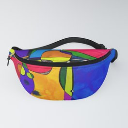Magical Thinking No. 8A by Kathy Morton Stanion Fanny Pack