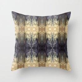 Silk Dye 2 Throw Pillow