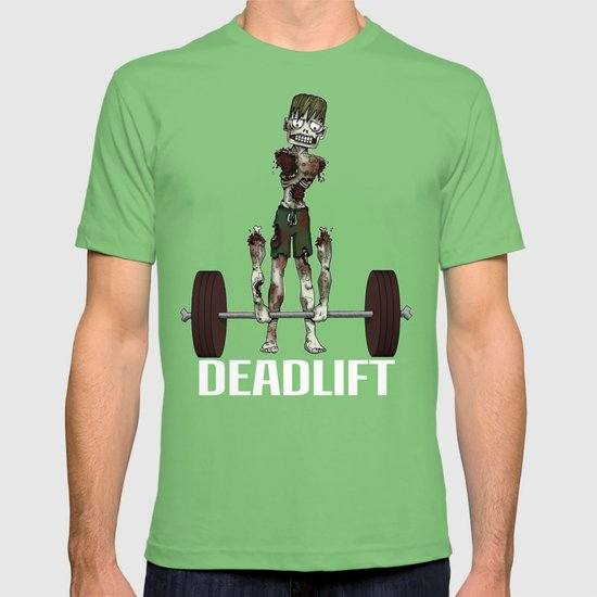Crossfit Zombie by RonkyTonk doing Deadlift T-shirt