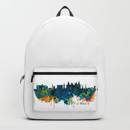 Las Vegas Watercolor Skyline Backpack