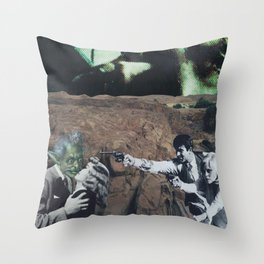 Bonnie and the Beast Throw Pillow