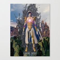 Ascend  from  Ruin Canvas Print