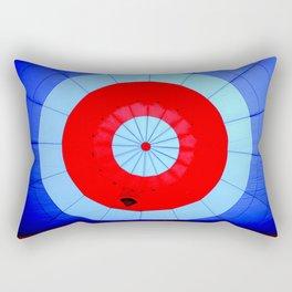 Inside the Center of a Hot Air Balloon Rectangular Pillow