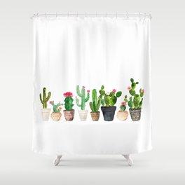 Plants Shower Curtains