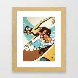 Dogdays Framed Art Print