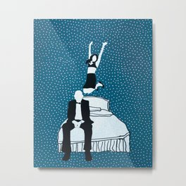 Chateau Marmont Metal Print