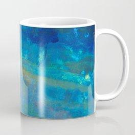 Sunrise Fire Opal Abstract Coffee Mug