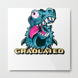 Graduated Dragon Metal Print