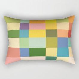 Soft Color Gradient Rectangular Pillow