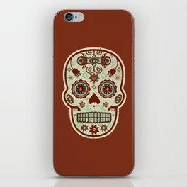 Cráneo de Dulce Pistacho iPhone Skin