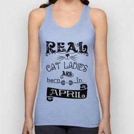 cat ladies - Funny Cat Saying Unisex Tank Top