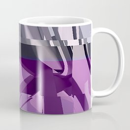Abstract Glitch 01 Coffee Mug
