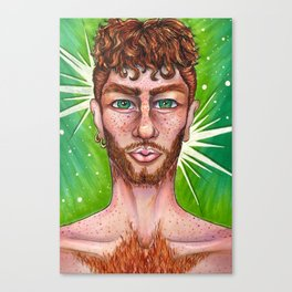 Redhead Canvas Print