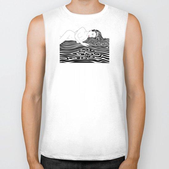 Water Nymph XLI Biker Tank