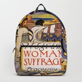 Women's March On Washington, Votes For Women, Women's Suffrage Backpack