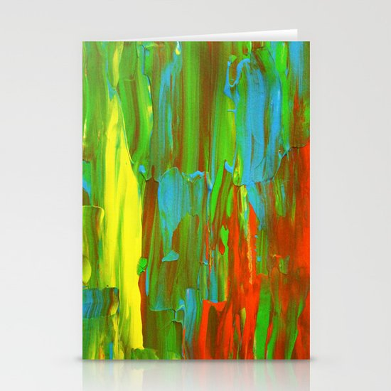 Abstract Painting 28 Stationery Cards