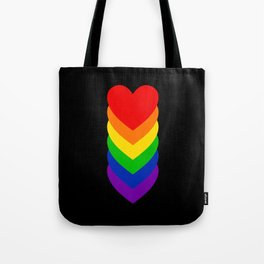 Homosexuality in Shapes Tote Bag