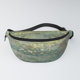 Water Lily Pond Claude Monet Fanny Pack
