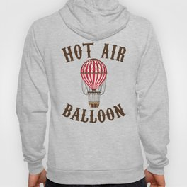 Hot Air Balloon Retro Balloonist Pilot Ballooning Hoody