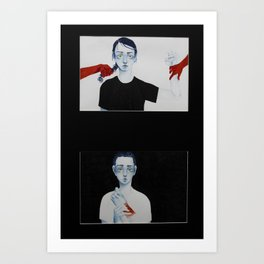 CAUSE/effect Art Print
