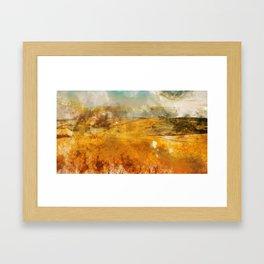 Hills of Tuscany Framed Art Print