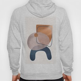 Minimal Abstract Shapes No.31 Hoody