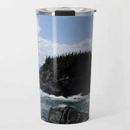 Scenic Coastal Views From the Trail Travel Mug