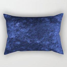 Royal blue navy velvet Rectangular Pillow