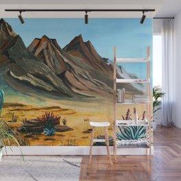 Deserted Desert Wall Mural