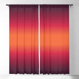 Sunset Tie Dye Gradient Colors Spectrum Harmony Blackout Curtain