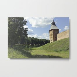 Friendly Kremlin Metal Print