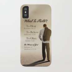 What Is Faith? Slim Case iPhone X