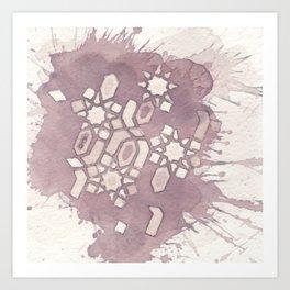 Cellular Geometry Art Print