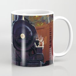 The Rail Yard  -  Steam Train Coffee Mug