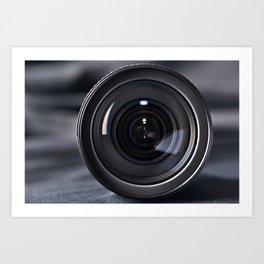 Photo lens front Art Print