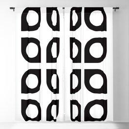 Geometric Pattern #37 (curves circles) Blackout Curtain