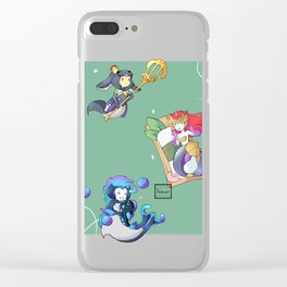Lil Nami's Clear iPhone Case
