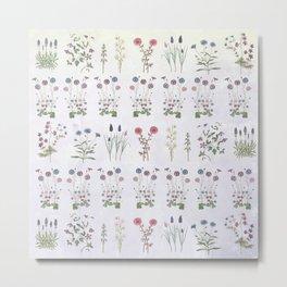 Growing a garden Metal Print