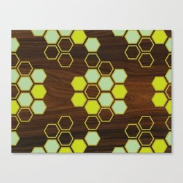 Hex in Green Canvas Print
