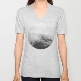 Moody clouds 1 Unisex V-Neck