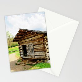 Historic Log Cabin Stationery Cards