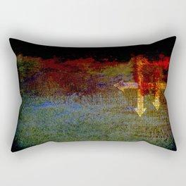 Abstract Figurehead Rectangular Pillow