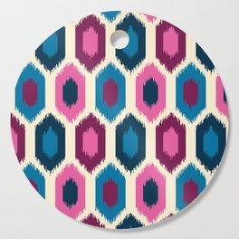 Jewel Tone Ikat Cutting Board